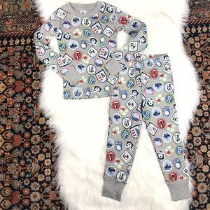 Mini Boden Cosy Long John Sports Pajamas